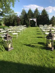 Outdoor Wedding in Lanesboro